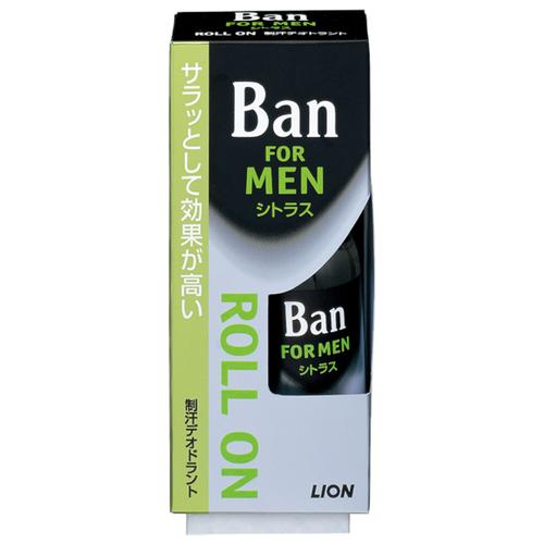 Дезодорант-антиперспирант роликовый Ban for Men Citrus, 30 мл