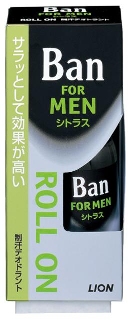 Дезодорант антиперспирант роликовый Ban for Men Citrus