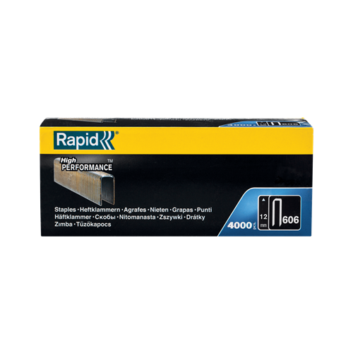 Скобы Rapid 11895002 для степлера, 12 мм