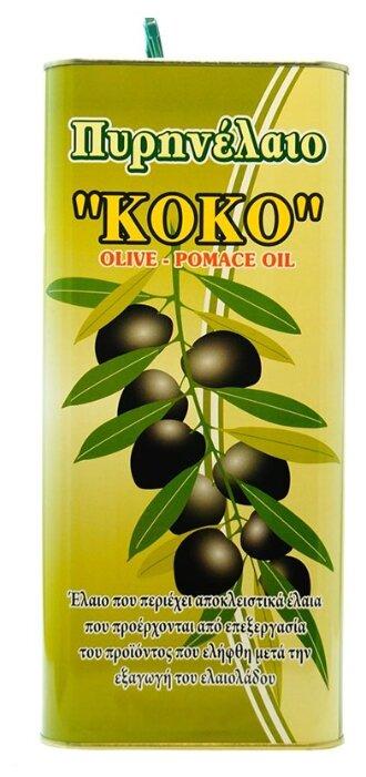 KOKO Масло оливковое рафинированное, жестяная банка