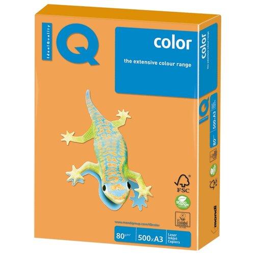 Фото - Бумага IQ Color A3 80 г/м² 500 лист. оранжевый неон NEOOR 1 шт. бумага iq color а4 80 г м² 100 лист розовый неон neopi 1 шт