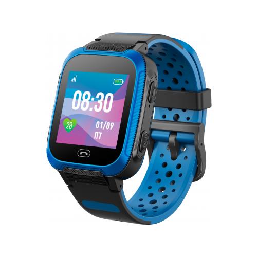 Купить Детские умные часы c GPS Jet Kid Friend черный/синий