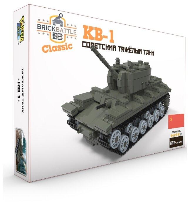 Конструктор Город Игр BrickBattle GI-7220 Советский тяжелый танк КВ-1 — купить по выгодной цене на Яндекс.Маркете