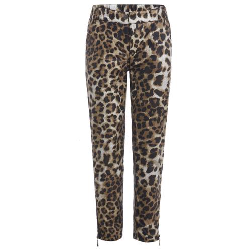 Брюки Gulliver 21908GJC6405 размер 146, леопардовый брюки gulliver 21908gjc6405 размер 146 леопардовый