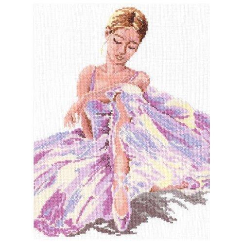 Купить Чудесная Игла Набор для вышивания Балерина 24 х 30 см (65-01), Наборы для вышивания
