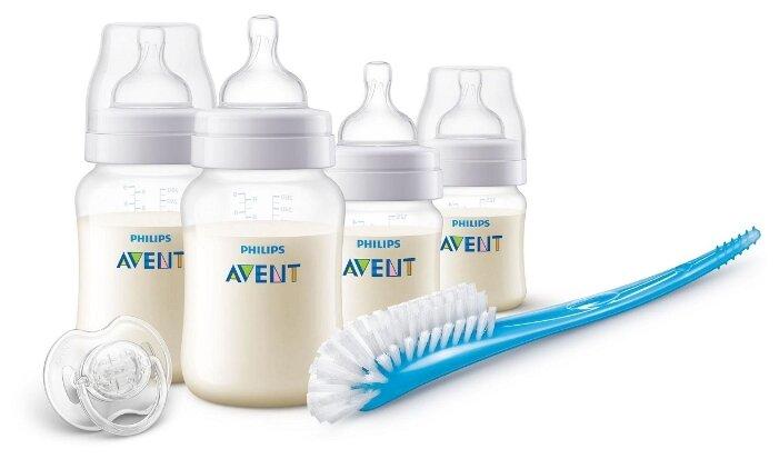 Philips AVENT Набор для кормления новорождённых Anti-colic SCD806/00 (6 предметов) с рождения