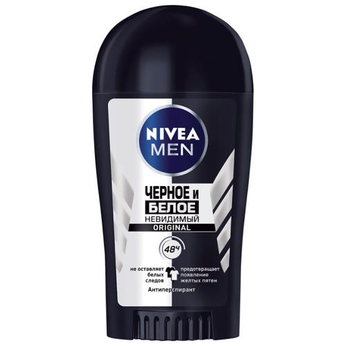 Купить Антиперспирант стик Nivea Men Невидимый для черного и белого, 40 мл