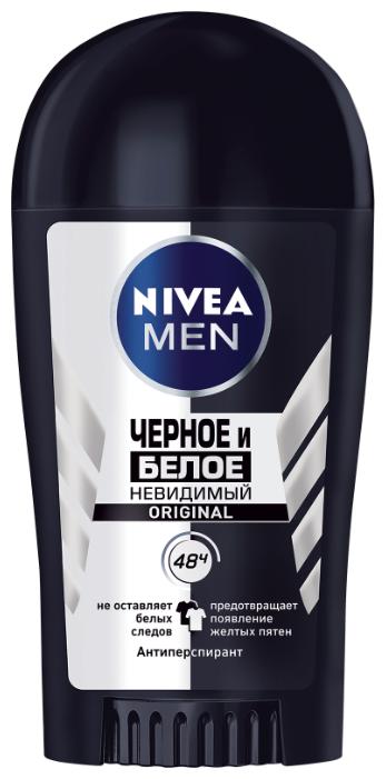 Антиперспирант стик Nivea Men Невидимый для черного и белого