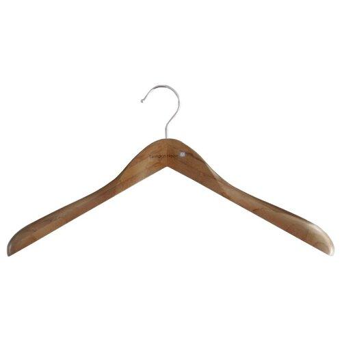 Вешалка Tarrington House бамбуковая для верхней одежды коричневый