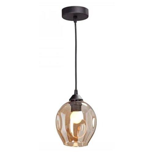 Фото - Потолочный светильник Vitaluce V4768-1/1S, E27, 60 Вт, цвет арматуры: черный, цвет плафона: белый светильник vitaluce v4849 1 1s e27 40 вт