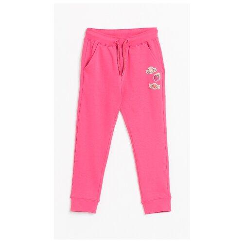 Спортивные брюки COCCODRILLO размер 98, розовый спортивные брюки coccodrillo размер 134 антрацитовый
