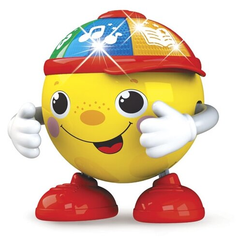 цена на Развивающая игрушка Азбукварик Танцующий Колобок желтый