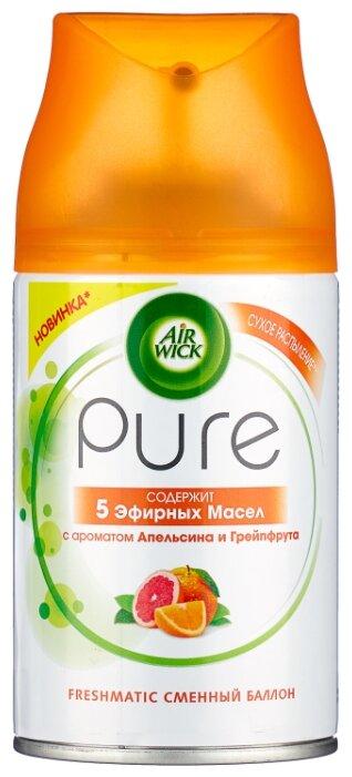 Air Wick сменный баллон 5 эфирных масел с ароматом апельсина и грейпфрута, 250 мл