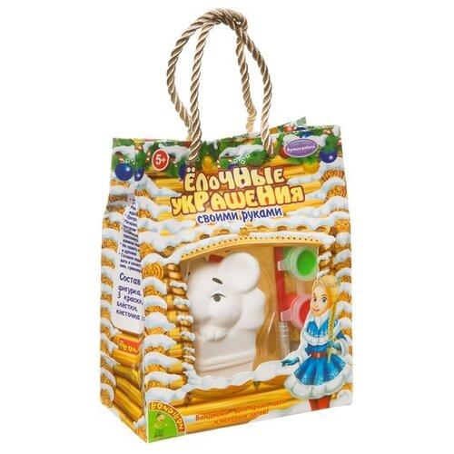 Купить BONDIBON Набор для творчества Елочные украшения Мышка (ВВ3436), Роспись предметов