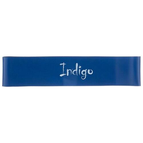 Эспандер лента Indigo Heavy 6004-3 46 х 5 см синий эспандер лента indigo heavy 6004 4 46 х 5 см черный