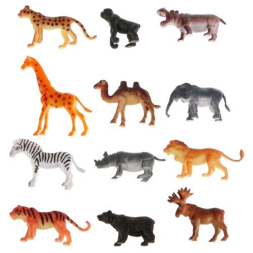 Купить Фигурки Играем вместе Рассказы о животных Дикие животные P9606-12, Игровые наборы и фигурки