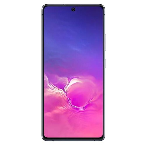 Смартфон Samsung Galaxy S10 Lite 6/128GB черный (SM-G770FZKUSER) смартфон samsung galaxy s10 128 гб черный оникс sm g973fzkdser