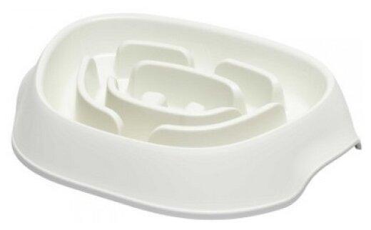Moderna миска Slomo для медленного поедания 950 мл, белый