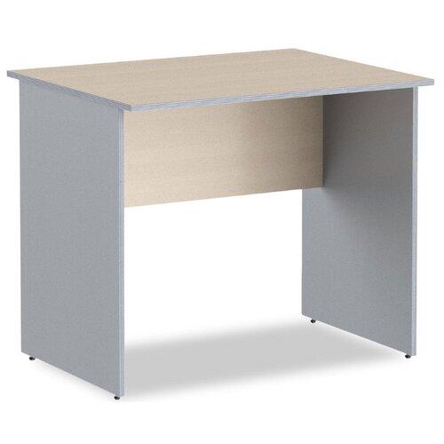 Письменный стол Skyland Imago СП, 90х60 см, цвет: металлик/клен