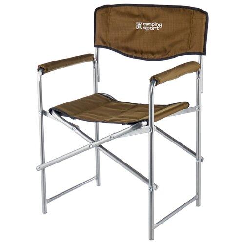 Кресло Nika Привал хаки/коричневый кресло nika премиум 6 хант коричневый