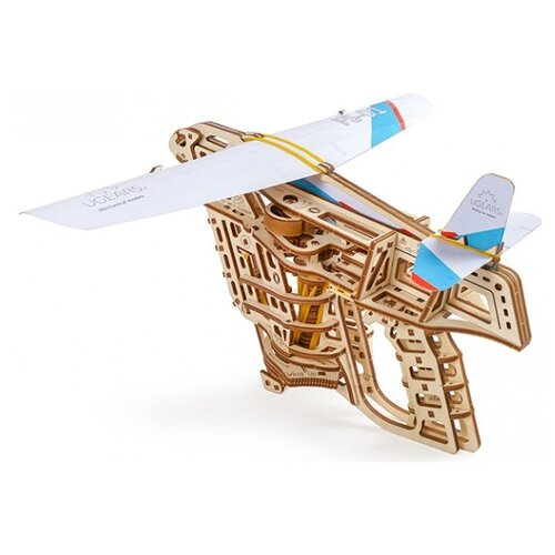 Купить Сборная модель UGEARS Пускатель самолетиков, Сборные модели