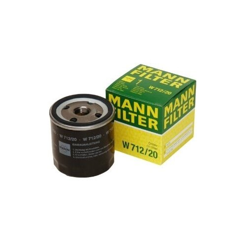 Масляный фильтр MANNFILTER W 712/20 масляный фильтр mannfilter w 712 4