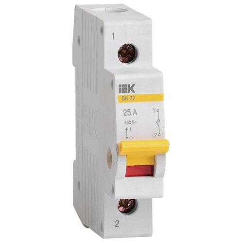 Рубильник IEK ВН-32 1P 25 А рубильник tdm еlectric вн 32 2p 40 а