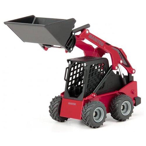 Купить Погрузчик Siku Manitou 3300V с бортовым поворотом (3049) 1:32 14.3 см красный/черный, Машинки и техника