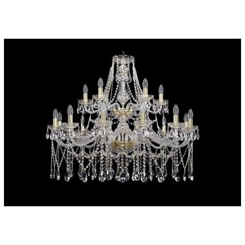 Фото - Люстра Bohemia Ivele Crystal 1413 1413/12+6/360/2d/G, E14, 720 Вт люстра bohemia ivele crystal 1413 18 400 g e14 720 вт