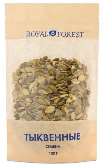 Семечки тыквенные ROYAL FOREST очищенные 100 г