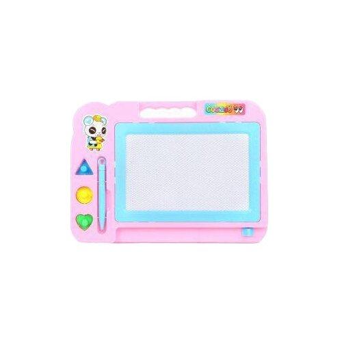 Доска для рисования детская Наша игрушка (635891) голубой/розовый игрушка