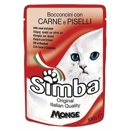 Корм для кошек Simba беззерновой 100 г