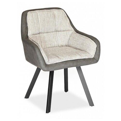 Дизайнерское кресло TetChair Vista (mod. DС5067 L) размер: 63х66 см, обивка: ткань, цвет: бежевый/черный