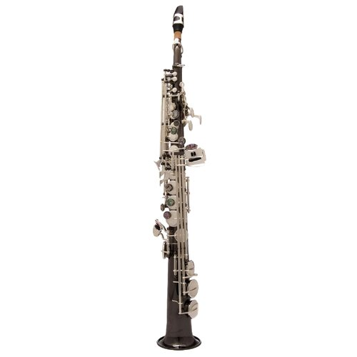 Саксофон сопрано John Packer JP043 черный/серебро Bb