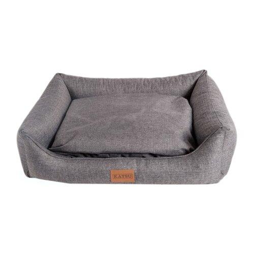 Лежак для собак и кошек Katsu Sofa Opi 70х50х21 см серый