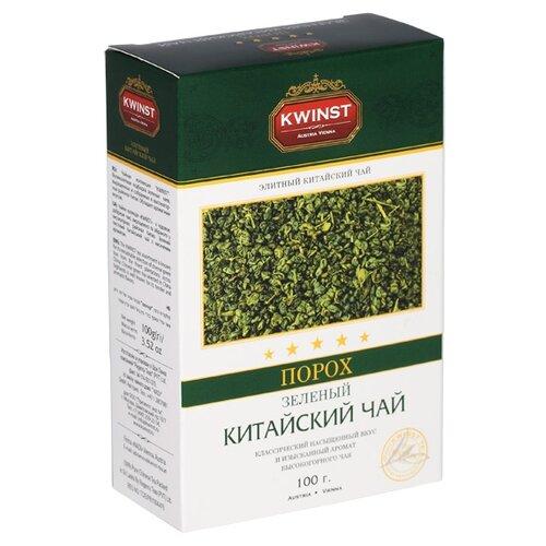 Чай зеленый Kwinst Порох, 100 г чай зеленый kwinst китайский 100 пакетиков