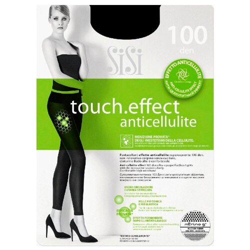 Леггинсы Sisi Touch Effect Anticellulite 100 den, размер 4-L, nero (черный)- преимущества, отзывы, как заказать товар за 789 руб. Бренд Sisi