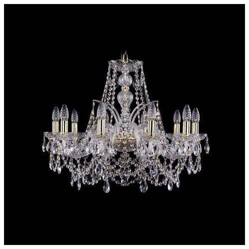 Фото - Люстра Bohemia Ivele Crystal 1411 1411/10/240/G, E14, 400 Вт люстра bohemia ivele crystal 1411 1411 6 141 g e14 240 вт