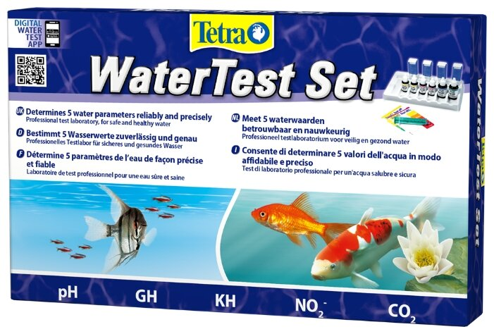 Тест TETRA WaterTest Set 5 параметров