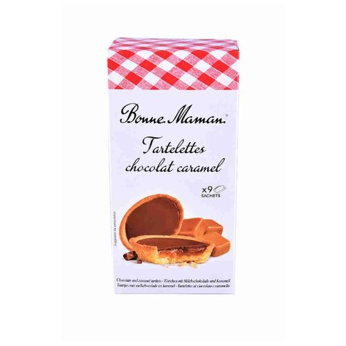 Печенье Bonne Maman Tartelettes с шоколадно-карамельной начинкой 135 г босоножки marco bonne marco bonne mp002xw1in82