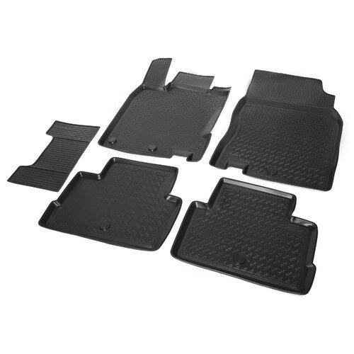 Комплект ковриков RIVAL 14105001 5 шт. черный