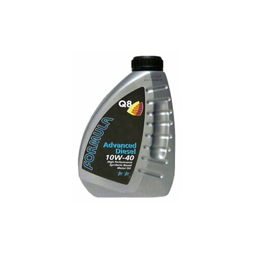 Полусинтетическое моторное масло Q8 Formula Advanced Diesel 10W-40, 1 л