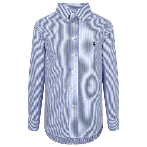 Рубашка Ralph Lauren размер 128, голубой