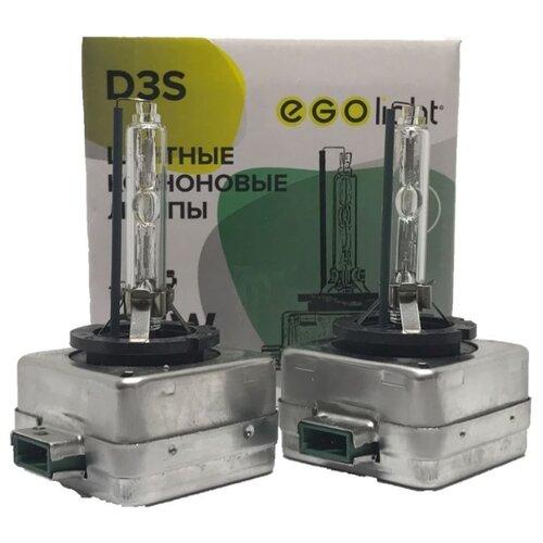 цена на Лампа автомобильная ксеноновая EGOlight D-series 203 D3S 35W 2 шт.
