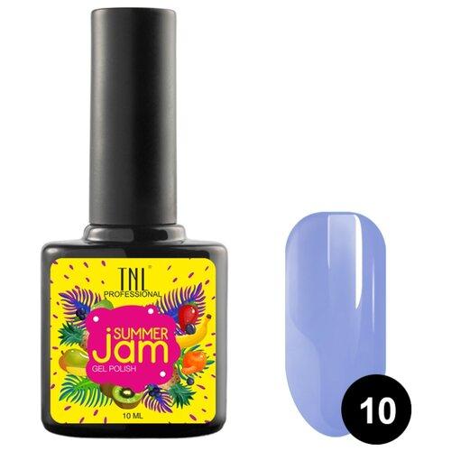 Гель-лак TNL Professional Summer Jam, 10 мл, оттенок 10 светло-фиолетовый