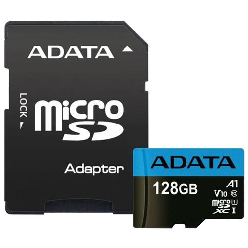 Фото - Карта памяти ADATA Premier microSDXC UHS-I U1 V10 A1 Class10 128GB + SD adapter карта памяти braveeagle u1 64gb синий