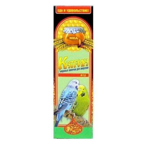 Лакомство для птиц Катрин медовые 70 г