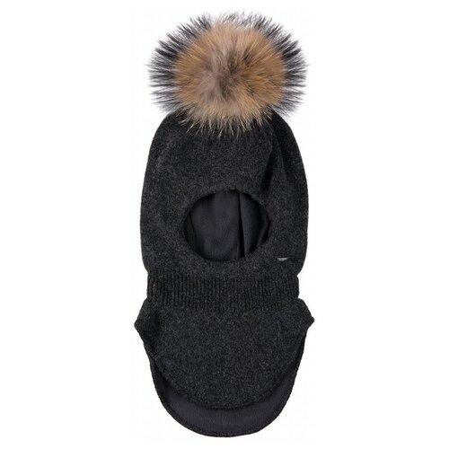 Купить Шапка-шлем FiNN FLARE размер 6-13 (54), серый меланж, Головные уборы