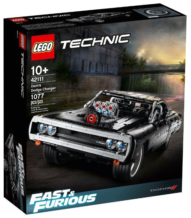 Конструктор LEGO Technic 42111 Dodge Charger Доминика Торетто — цены на Яндекс.Маркете