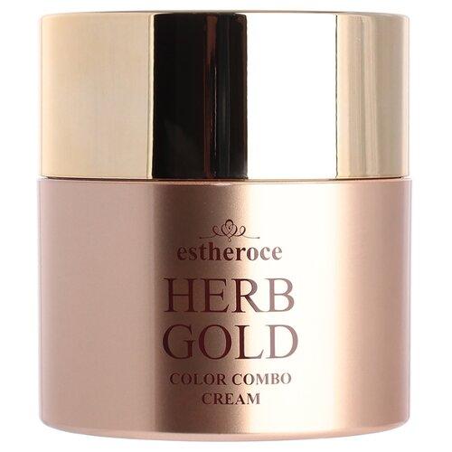 Deoproce CC крем с золотом Estheroce Herb Gold, 40 г, оттенок: бежевый недорого